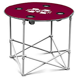 Mississippi State University Round Collapsible Table