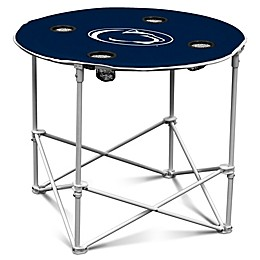 Penn State Round Collapsible Table