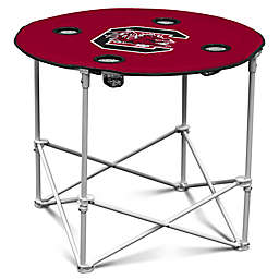 University of South Carolina Round Collapsible Table