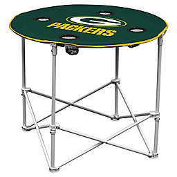 NFL Green Bay Packers Round Collapsible Table