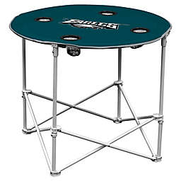 NFL Philadelphia Eagles Round Collapsible Table