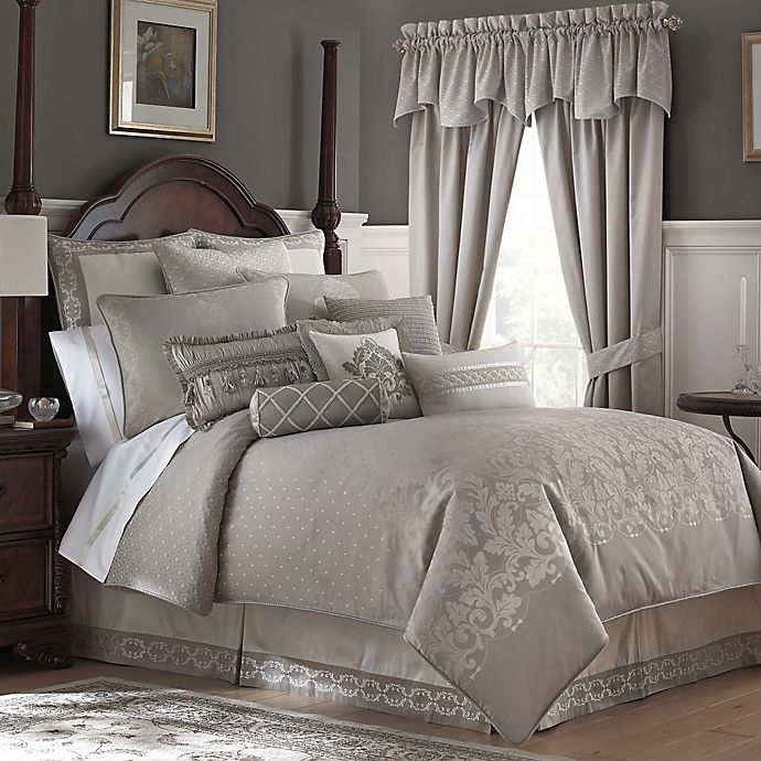 Waterford Linens Colleen Reversible Comforter Set Bed Bath Beyond