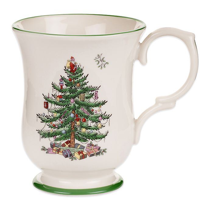 Alternate image 1 for Spode® Christmas Tree 12 oz. Footed Mug