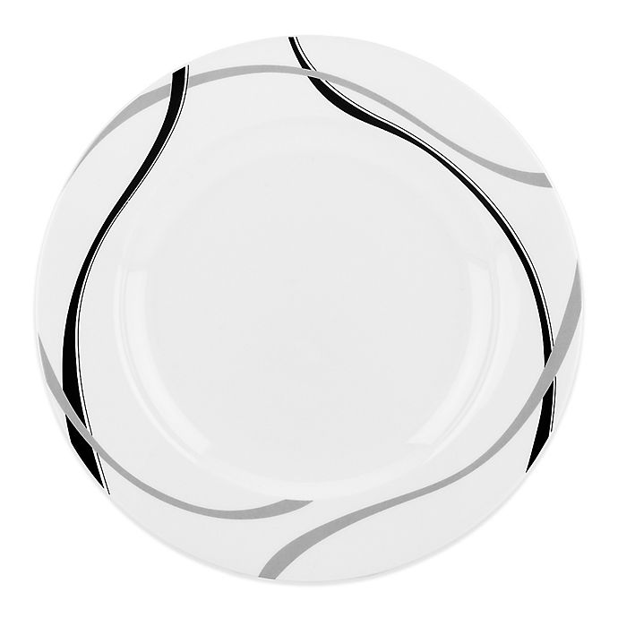 Alternate image 1 for Lenox® Vibe Black & Grey™ Dinner Plate