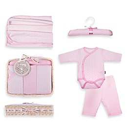 Tadpoles™ by Sleeping Partners Starburst Size 0-6M 5-Piece Layette Baby Gift Set in Pink