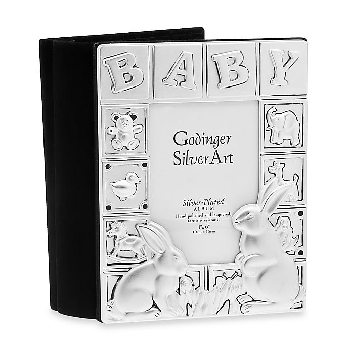 Godinger Silver Plated Baby Album Bed Bath Beyond
