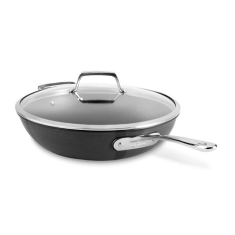All Clad B1 Hard Anodized Nonstick 12 Inch Chef S Pan With