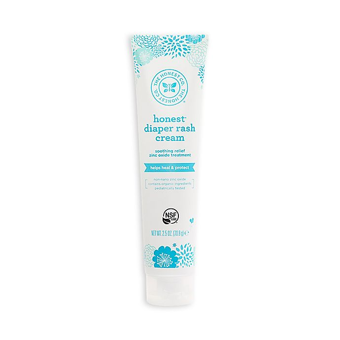 Alternate image 1 for Honest 2.5 oz. Diaper Cream