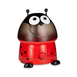 Crane Ultrasonic Cool Mist Adorable Ladybug Humidifier with Bonus Filter