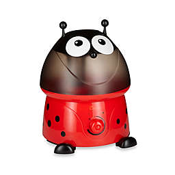 Crane Ultrasonic Cool Mist Adorable Ladybug Humidifier with Bonus Filter