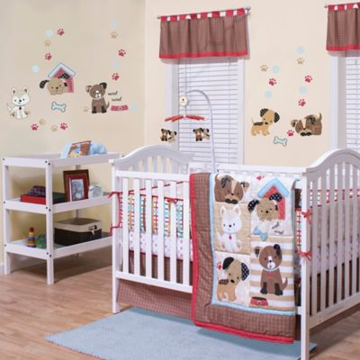 Belle Puppy Play Crib Bedding Collection Buybuy Baby
