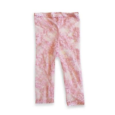 Baby Bella Maya™ Lacy Leggings in Pink