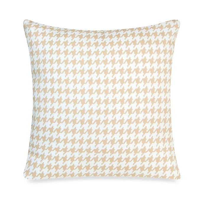 Alternate image 1 for Glenna Jean Central Park Houndstooth Decorative Pillow