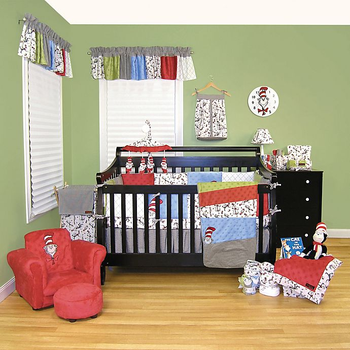 Alternate image 1 for Trend Lab® Dr. Seuss™ Cat in the Hat 3-Piece Crib Bedding Set