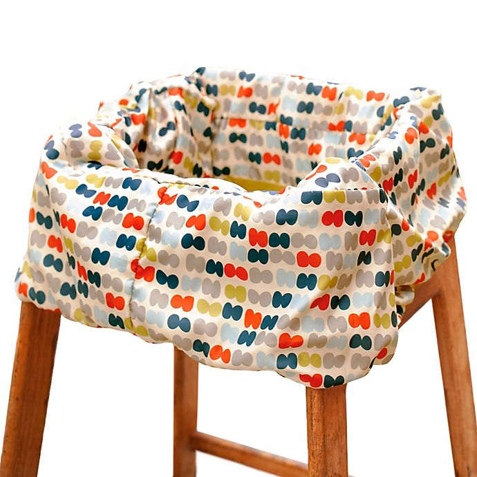 Alternate image 1 for SKIP*HOP® Take Cover Shopping Cart and High Chair Cover in Dots