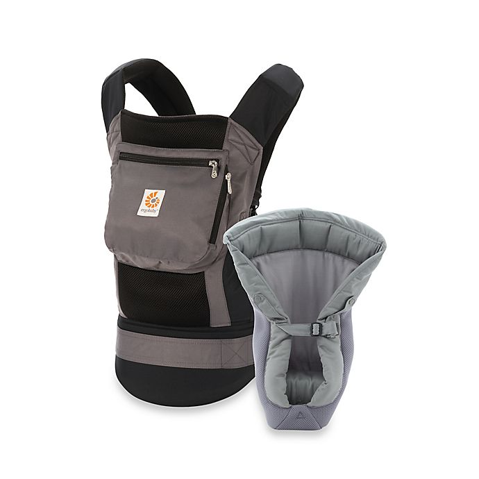 40d2898570a Ergobaby™ Performance Collection Bundle of Joy Baby Carrier with Mesh Insert  in Black Charcoal