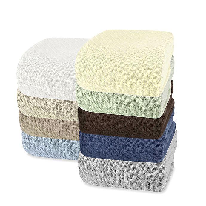 Alternate image 1 for Wamsutta® Classic Cotton Blanket