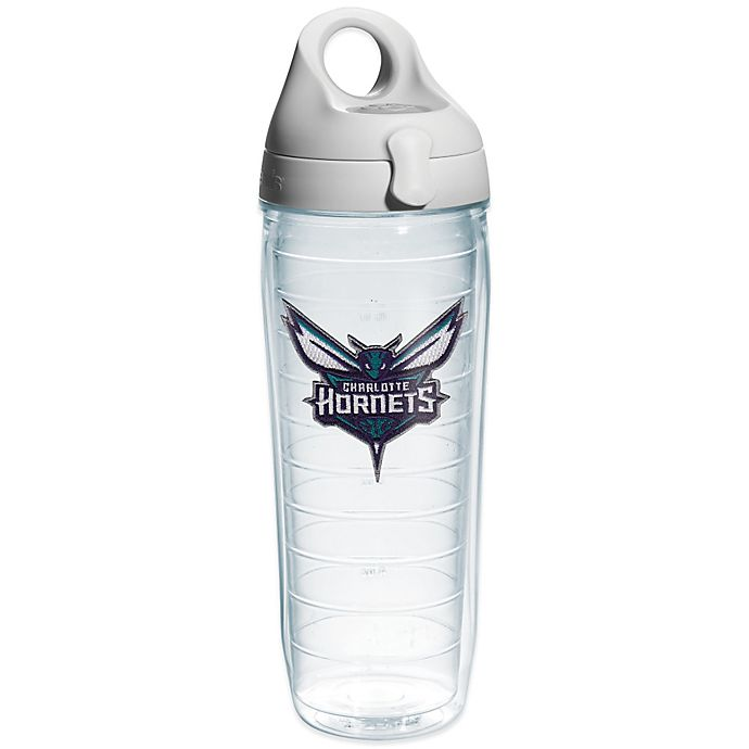 Alternate image 1 for Tervis® NBA Charlotte Hornets 24 oz. Water Bottle with Lid