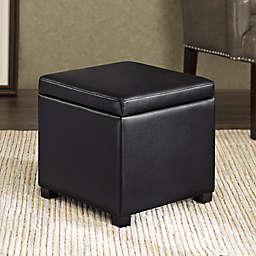 Regency Heights® Maddox Small Cube Storage Ottoman