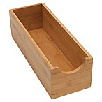 Lipper International Bamboo Sock Box