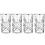Godinger Platinum 10 oz. Highball Glasses (Set of 4)