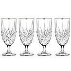 Godinger Platinum 14 oz. Iced Beverage Glasses (Set of 4)