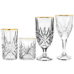 Godinger Gold Barware Glasses Collection (Set of 4)