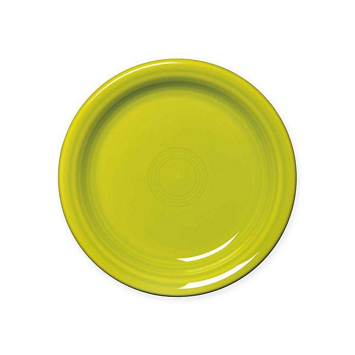 Alternate image 1 for Fiesta® Appetizer Plate in Lemongrass
