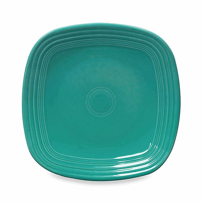 Alternate image 1 for Fiesta® Square Dinner Plate in Turquoise