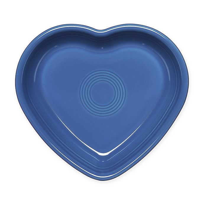 Alternate image 1 for Fiesta® Medium Heart Bowl in Lapis