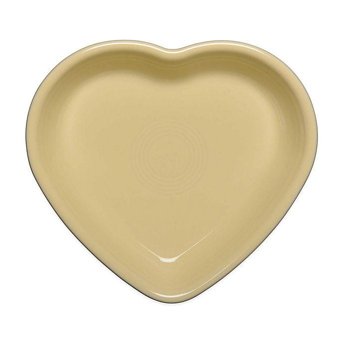 Alternate image 1 for Fiesta® Medium Heart Bowl in Ivory