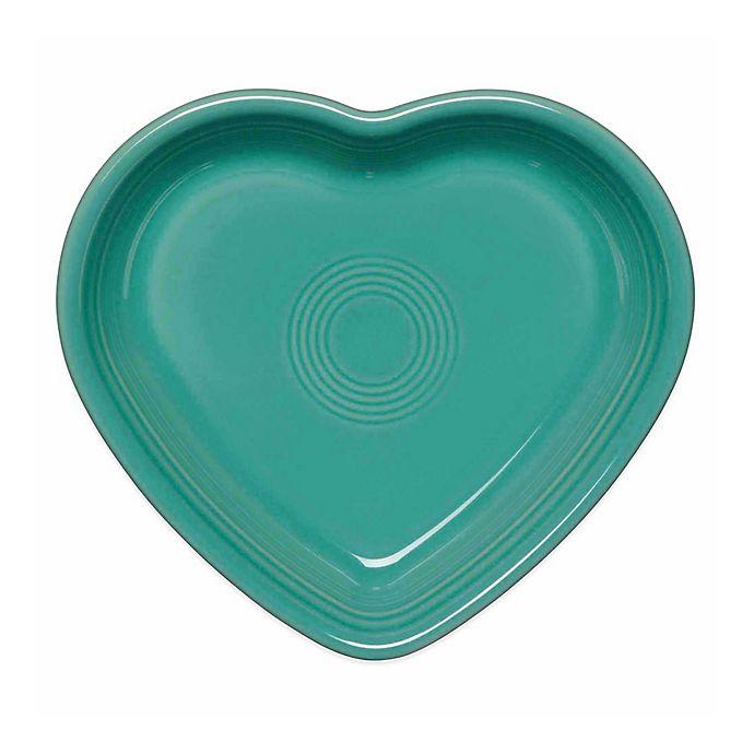 Alternate image 1 for Fiesta® Medium Heart Bowl in Turquoise