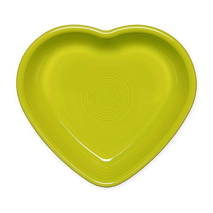 Alternate image 1 for Fiesta® Medium Heart Bowl in Lemongrass
