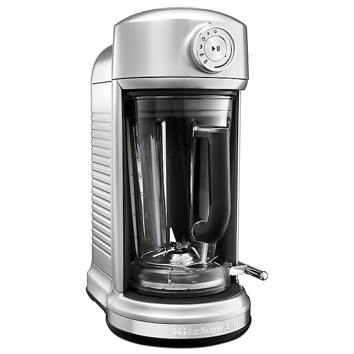 Alternate image 1 for KitchenAid® Torrent™ Magnetic Drive Blender in Sugar Pearl Silver