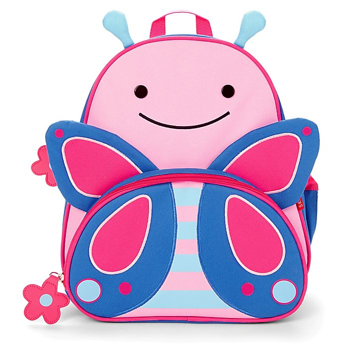 Alternate image 1 for SKIP*HOP® Zoo Pack Little Kid Backpack in Butterfly