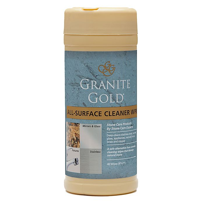 Alternate image 1 for Granite Gold® 40-Count All Surface Cleaner Wipes