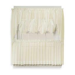 Emelia 38-Inch Window Curtain Swag Pair in Ecru