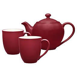 Noritake® Colorwave 3-Piece Tea-for-2 Set in Raspberry