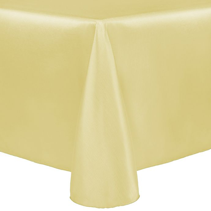 Alternate image 1 for Majestic 60-Inch x 90-Inch Tablecloth in Yellow