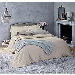 Wamsutta® Vintage Lyon Floral Twin Bedspread in Beige