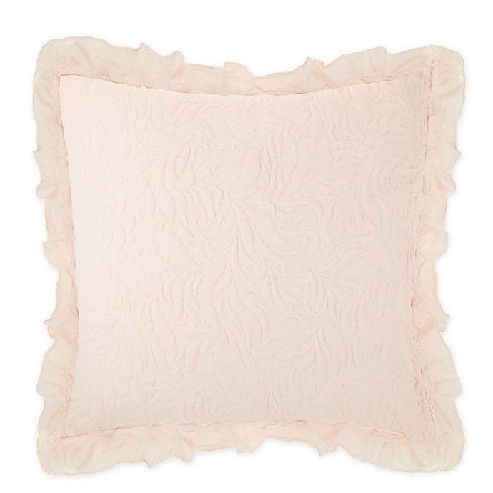 Alternate image 1 for Wamsutta® Vintage Lyon European Pillow Sham in Soft Pink