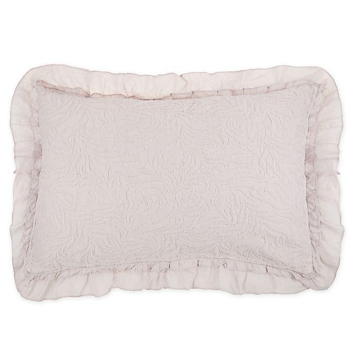 Alternate image 1 for Wamsutta® Vintage Lyon King Pillow Shams in Lilac (Set of 2)