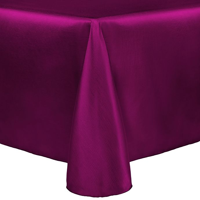 Alternate image 1 for Majestic 60-Inch x 90-Inch Tablecloth in Raspberry