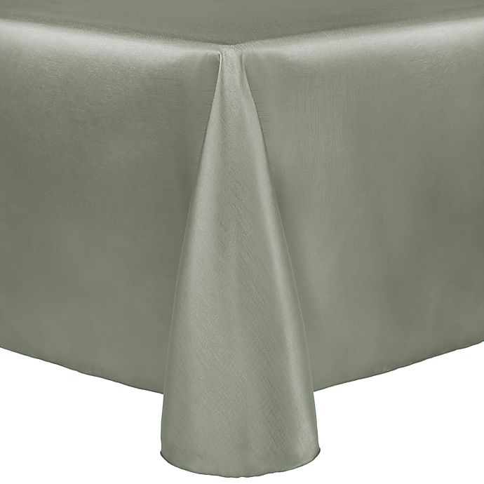 Alternate image 1 for Majestic 60-Inch x 90-Inch Tablecloth in Sage