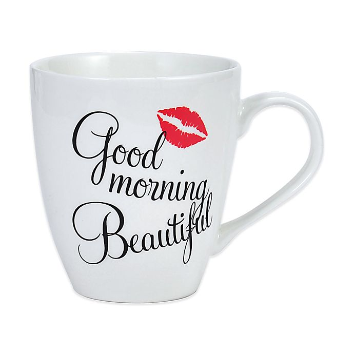 Pfaltzgraff Everyday Good Morning Beautiful Mug In White