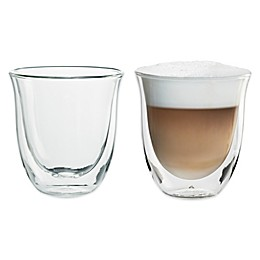 De'Longhi 6 oz. Cappuccino Glasses (Set of 2)