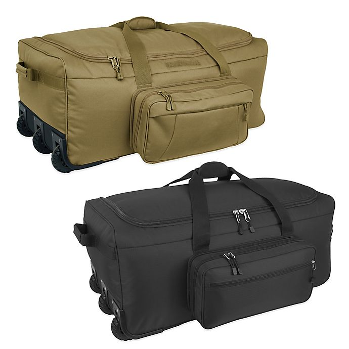 Alternate image 1 for Mercury Luggage/Seward Trunk Code Alpha™ Mini-Monster 3-Wheeled Duffle Bag