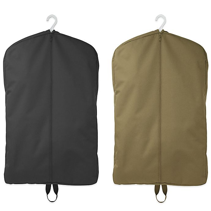 Mercury Luggage Seward Trunk Code Alpha Zippered Garment Bag