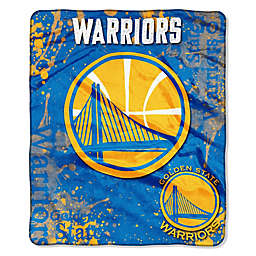 NBA Golden State Warriors Super-Plush Raschel Throw Blanket fe0f43f8a