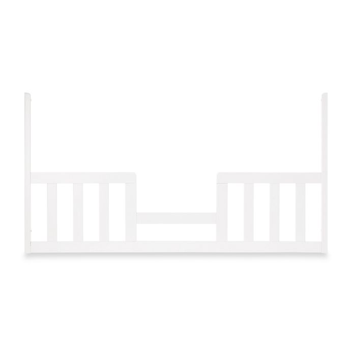 Alternate image 1 for Child Craft™ Toddler Guard Rail for Multiple Cribs in Matte White